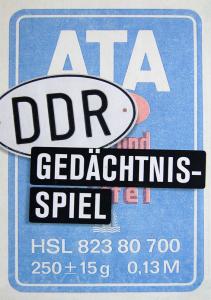 Memo ATA - Das DDR Gedächtnisspiel