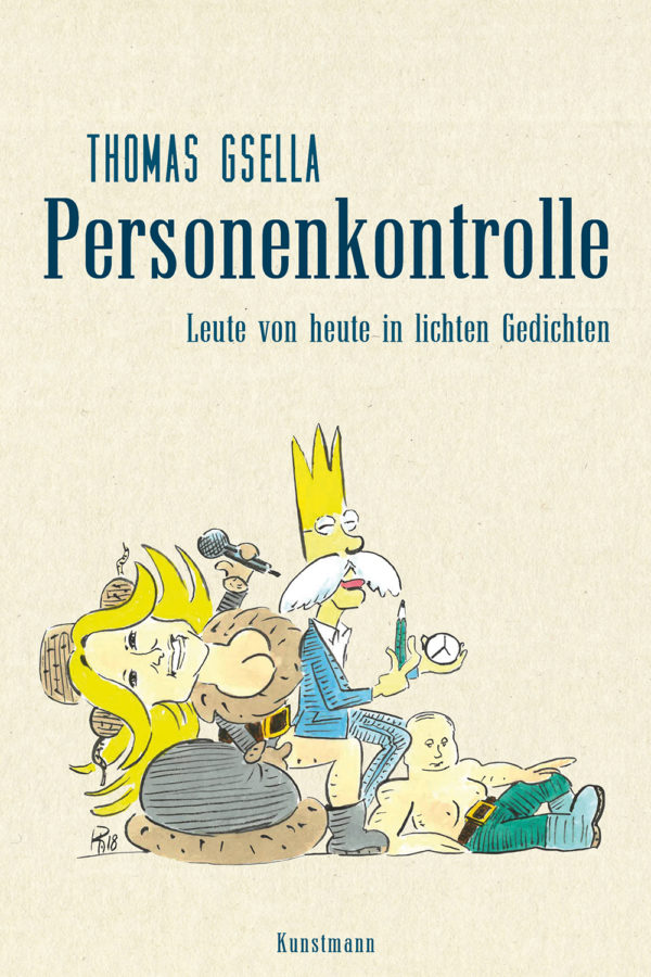 Thomas Gsella: Personenkontrolle