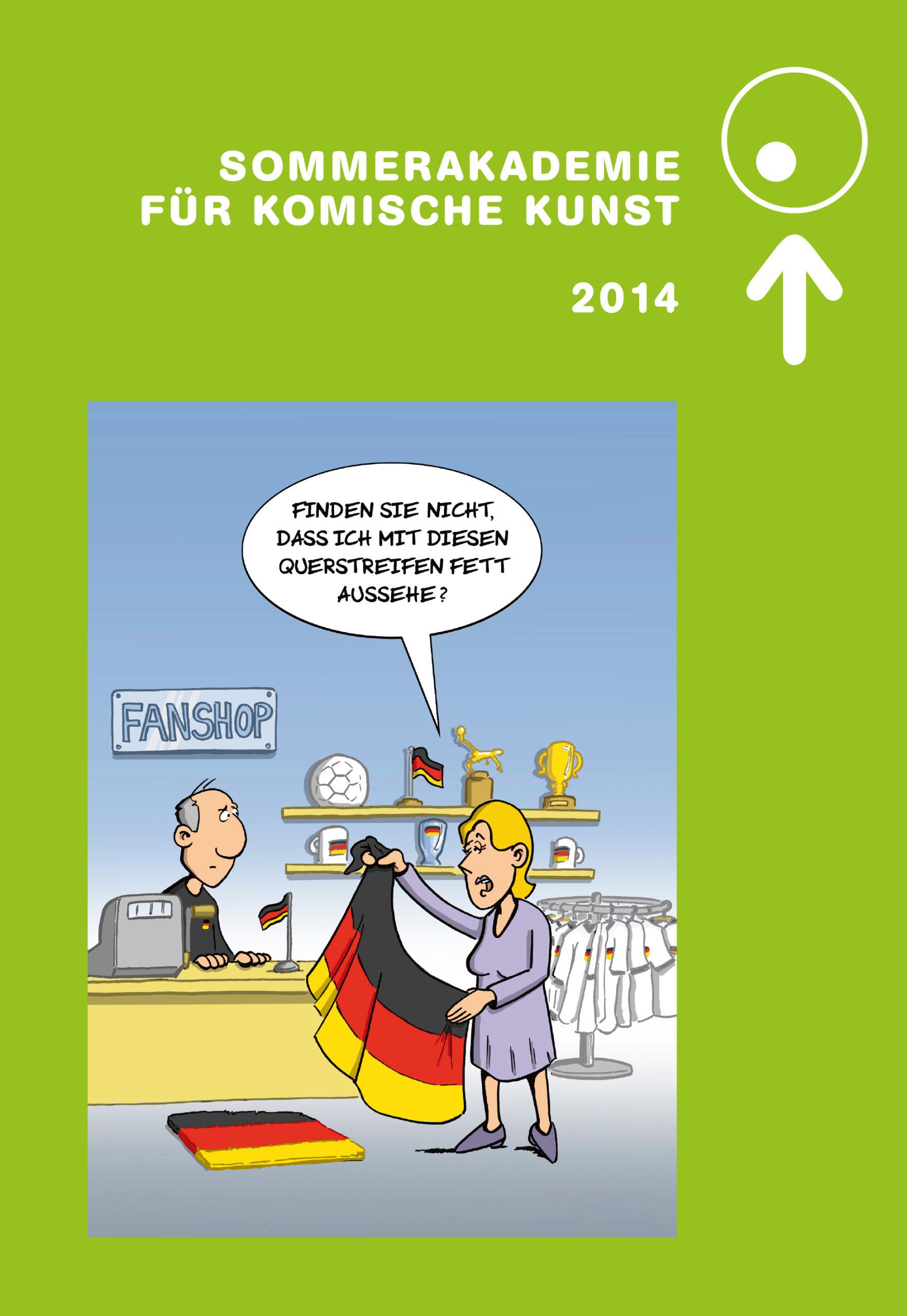 Katalog zur Sommerakademie für Komische Kunst 2014