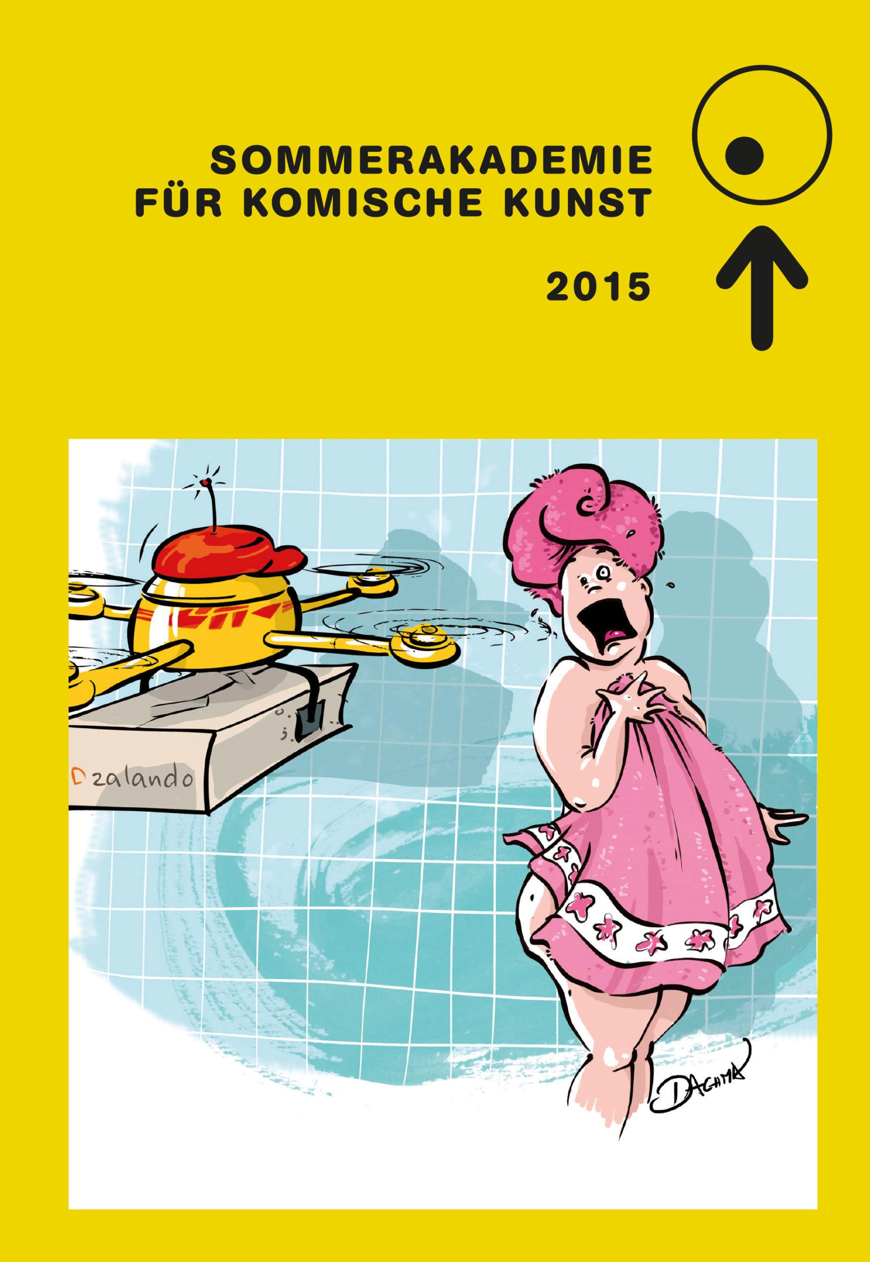 Katalog zur Sommerakademie für Komische Kunst 2015