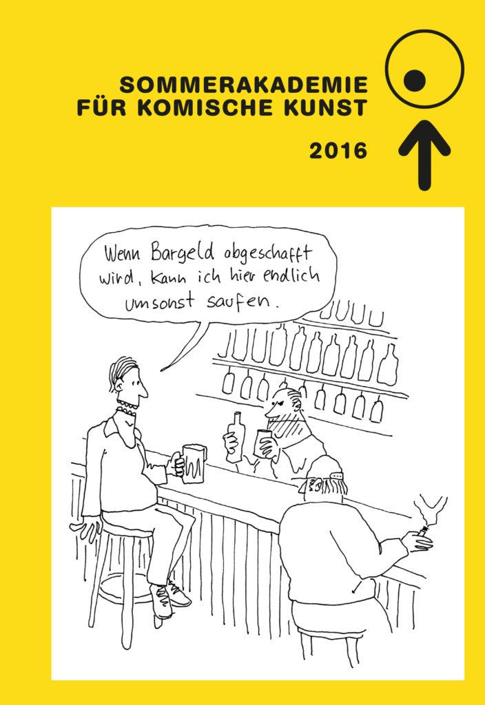 Katalog zur Sommerakademie für Komische Kunst 2016