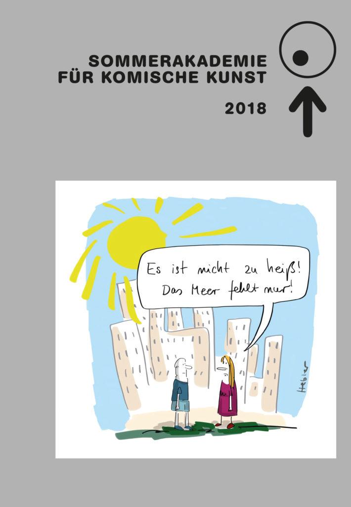 Katalog zur Sommerakademie für Komische Kunst 2018